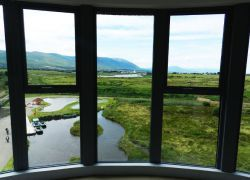 The View from the tower -1, Tralee Bay Wetlands