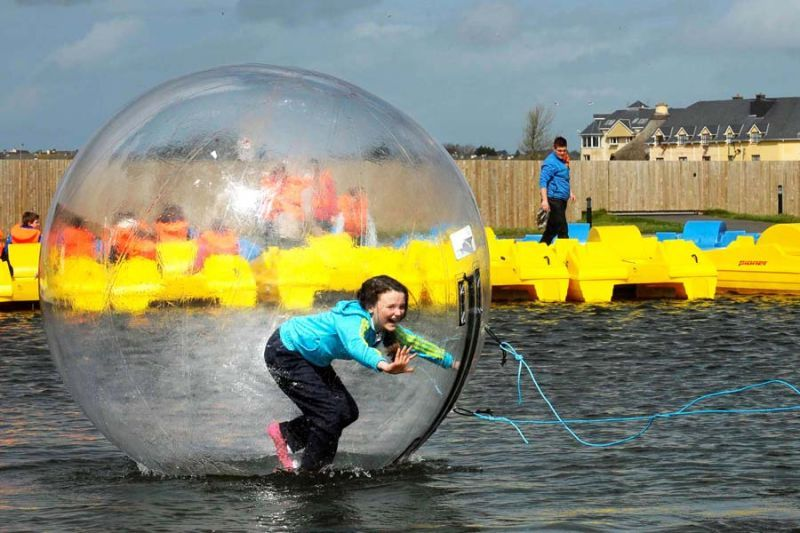 Image result for Water Zorbing